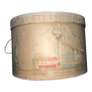Vintage Stetson Hat Box