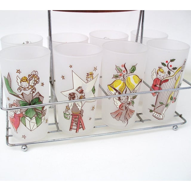 Rare Angel Barware Gay Fad Glasses Caddy - S/9 - Image 6 of 7