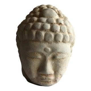 Sculptural Stone Buddha Head