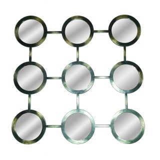 Vintage Optic Circles Mirror