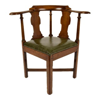 Mid-19th Century English Corner Chair