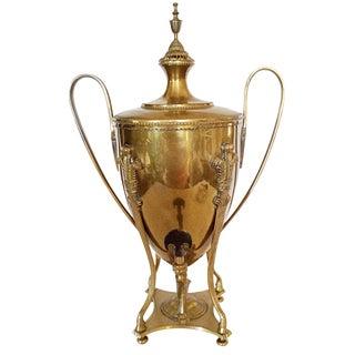 Large Brass Serving Trophy Urn