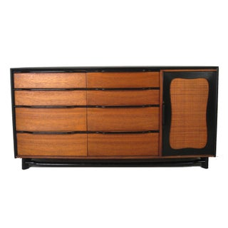 Retro Danish Modern Wooden Dresser