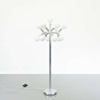 Trix & Robert Haussmann Floor Lamp for Swisslamps International, 1950
