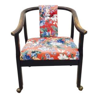 Vintage Asian Campaign Tsu Chair