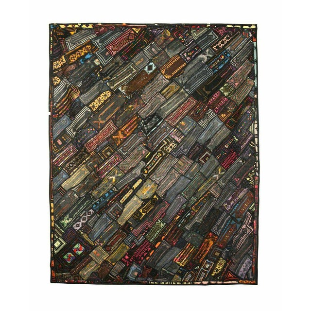 Image of Brown and Black Multi-Purpose Vintage Panel