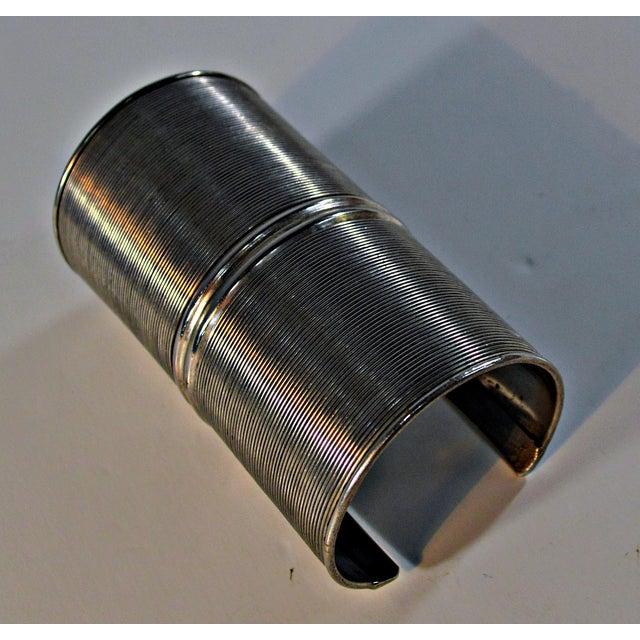 African Metal Tribal Bracelet - Image 6 of 6