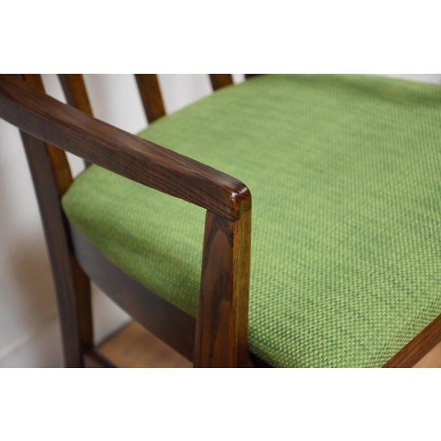 Broyhill Brasilia Walnut Dining Chairs - Set of 8 - Image 10 of 11