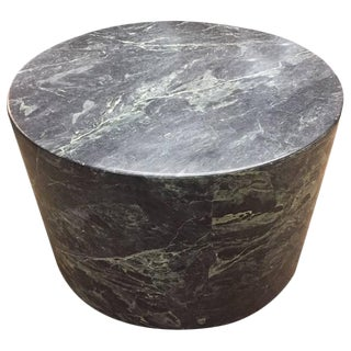 Large Italian Green Marble Pedestal