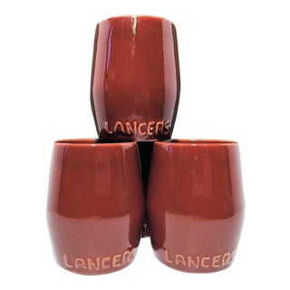 Classy Lancer's Handleless Mug Wine Glasses- Set of 4