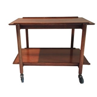 Poul Hundevad Danish Modern Bar Cart