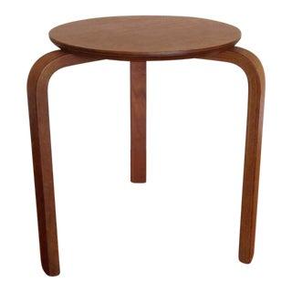 Alvar Aalto Style Tripod Accent Table