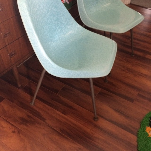 Image of Mid-Century Shell Chairs by Brody - A Pair