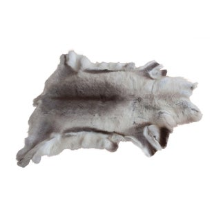 Luxurious Reindeer Fur Throw