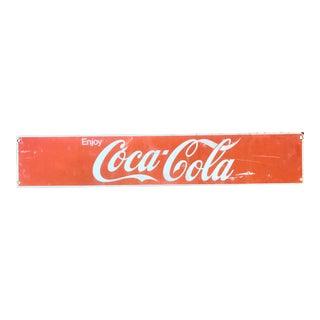 Vintage Coca-Cola Advertising Sign
