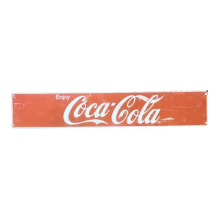 Vintage Coca-Cola Advertising Sign