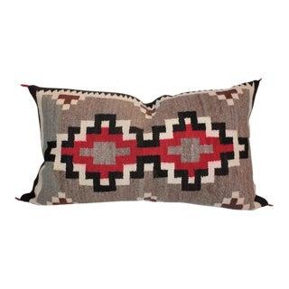 Large Geometric Navajo Bolster Pillow