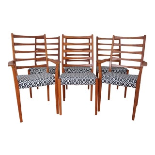 Svegards Markaryd Ladder Back Dining Chairs - Set of 6