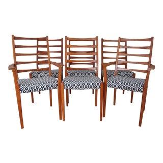 Svegards Markaryd Ladder Back Dining Chairs - Set of 6
