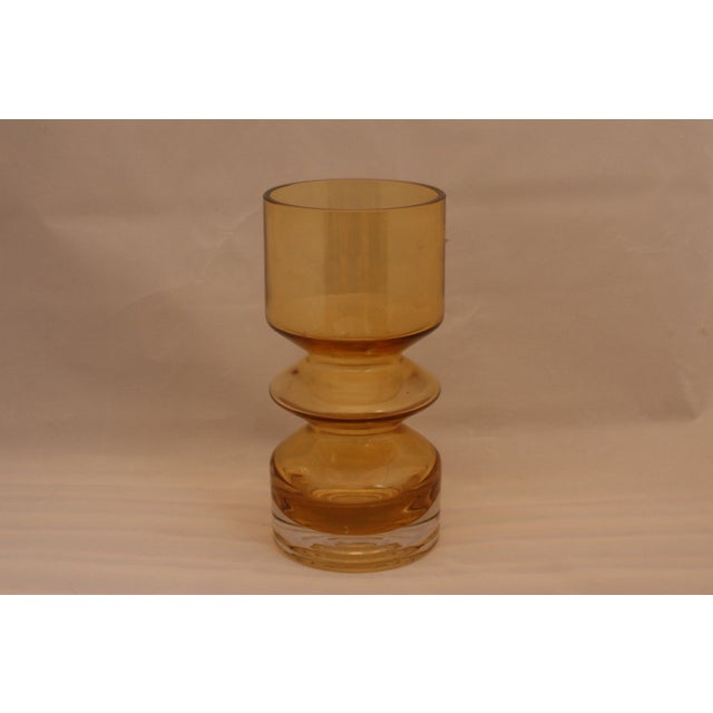 MCM Riihimaen Lasi Finland Art Glass Vase - Image 2 of 6