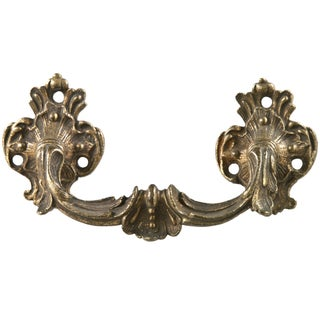 Antique French Gilded Bronze Drawer Handle