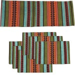 Image of Southwest Table Runner & Placemats - Set of 7
