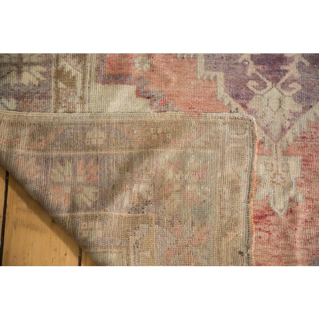 "Distressed Oushak Runner - 4'4"" x 11'9"" - Image 7 of 8"