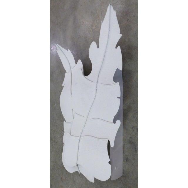 Mid-Century Metal Leaf Sconce - Image 5 of 8