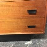 Image of Mid-Century Teak Six Drawer Dresser