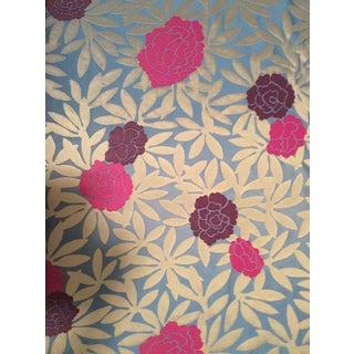 Osborne & Little Pink & Purple Peonies Fabric- 2 Yards
