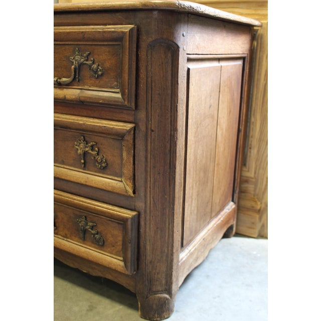 French Oak Louis XV Style Commode - Image 4 of 8