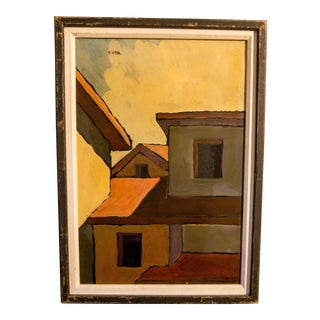 Original Expressionism House Painting