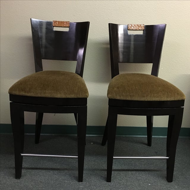Image of Berman Rosetti Filly Counter Stools - Pair