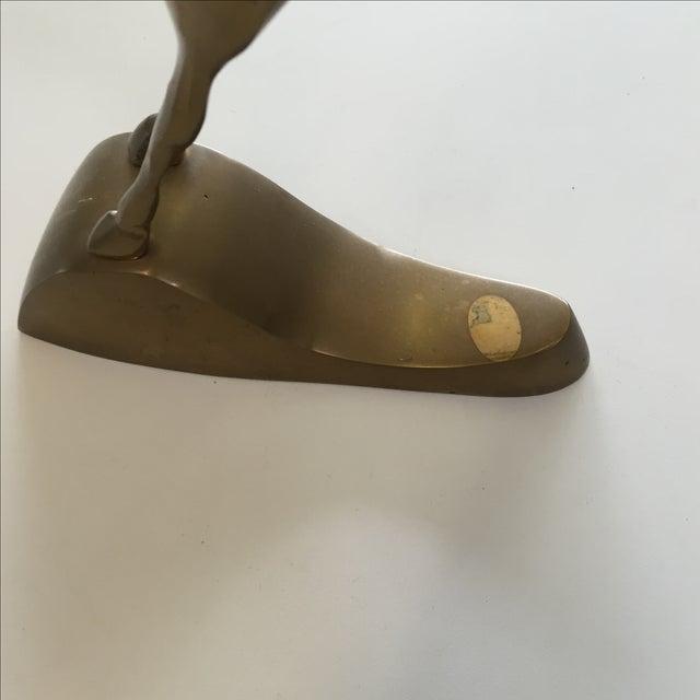 Image of Vintage Brass Antelope