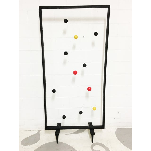 Mid-Century Modern Style Screen Room Divider - Image 5 of 7