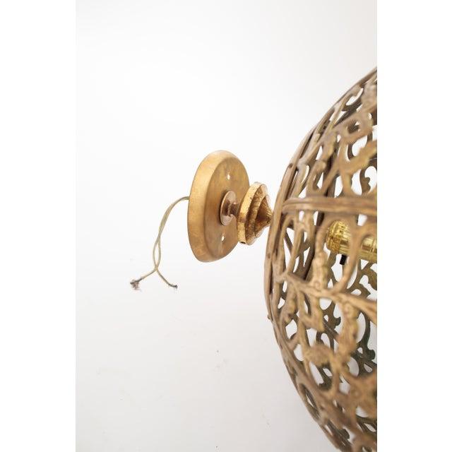 Image of Brass Regency Light Fixture