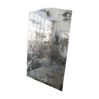 Distressed Art Deco Mirror