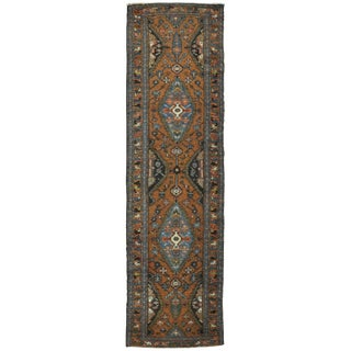 Surena Rugs Antique Persian Hamadan Runner Rug - 2′7″ × 9′