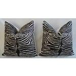 Image of Brunschwig Fils Zebra Pillows - a Pair
