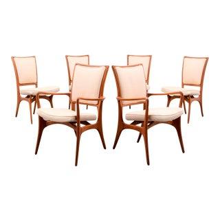Vladimir Kagan #175A Dining Chairs, Set of 6