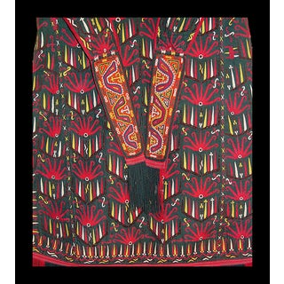 Antique Turkoman Tekke Chirpy Silk Embroidery