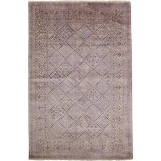 "Vibrance Hand Knotted Area Rug - 5'3"" X 7'10"""