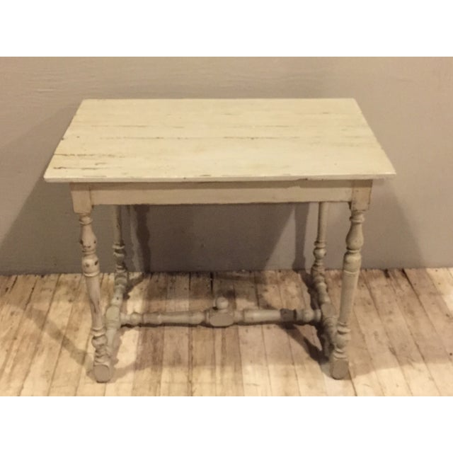 Refinished Antique French Country Directoire Table - Image 4 of 7