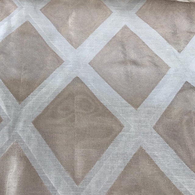 Jack Lenor Larsen Modern Metallic Fabric - Image 1 of 6