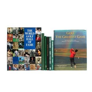 Vintage Golf Selection Books - Set of 7