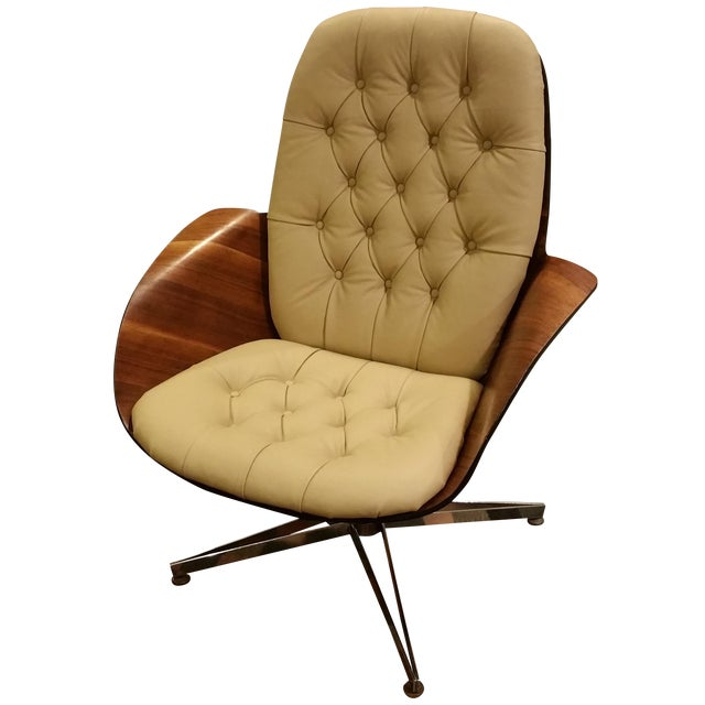 George Mulhauser Plycraft Mid-Century Mrs. Chair - Image 1 of 7