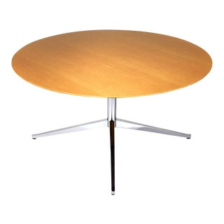 Mid Century Modern style Dining Table by Florence Knoll InternationalVintage   Used Dining Tables   Chairish. Pine Dining Table Round Extending. Home Design Ideas