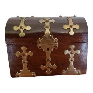 Spanish Brass Detail Music Box