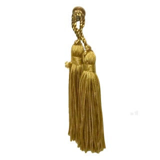 Hollywood Regency Gold Tassels - A Pair