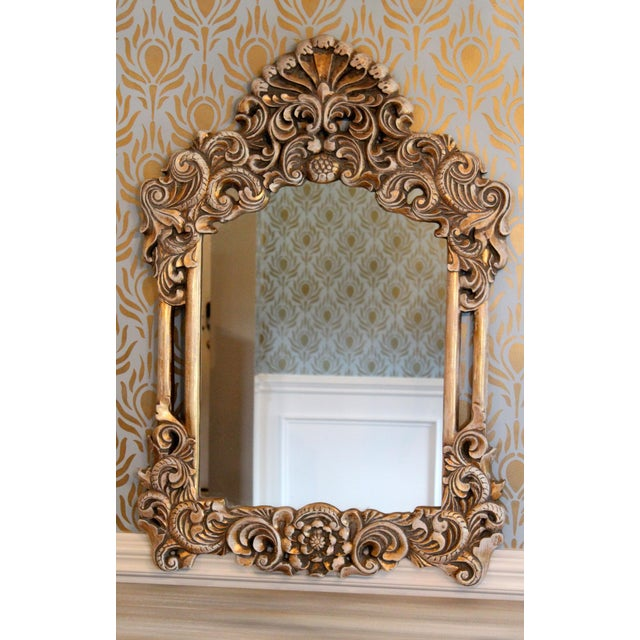 Gilded Victorian Style Mirror - Image 2 of 6